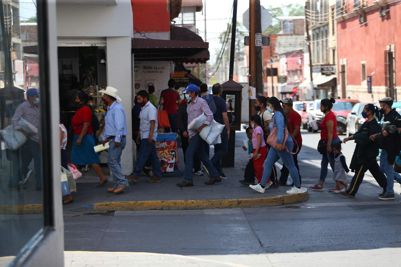 Registra Durango tercer pico de contagios Covid por día, desde marzo