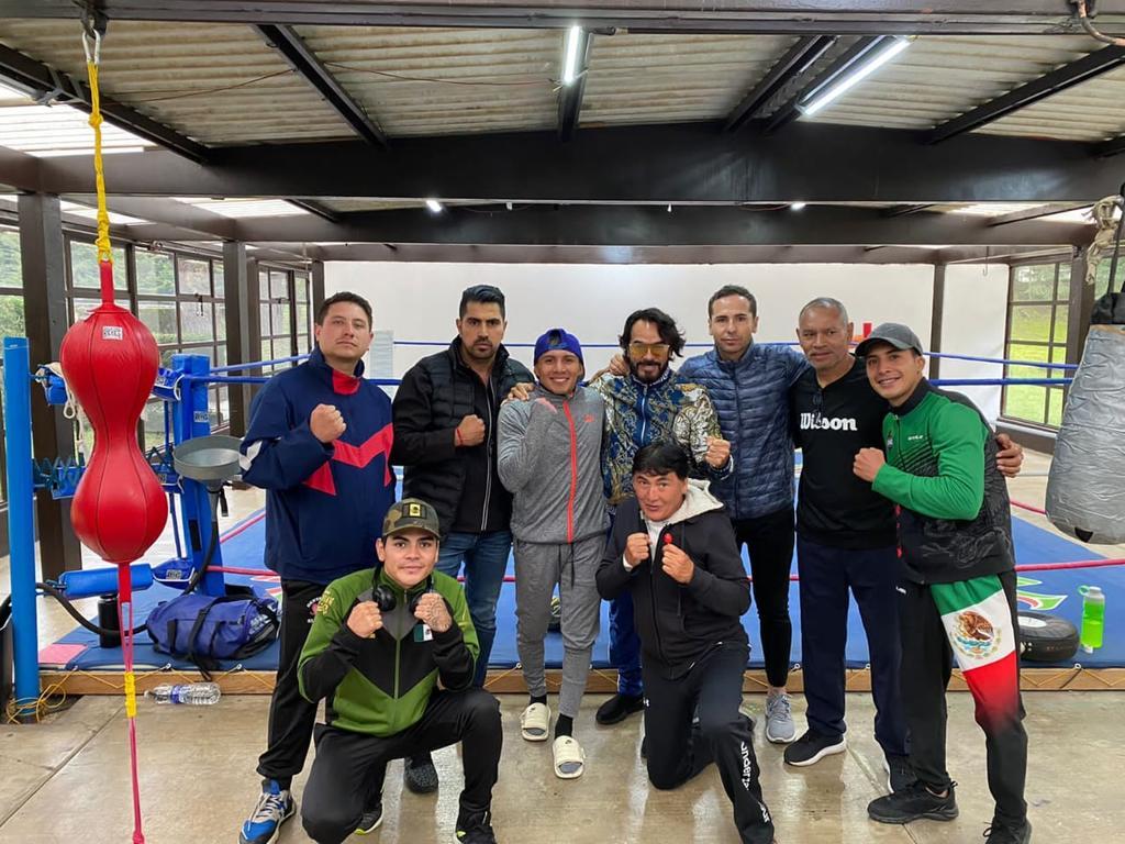 'Chihuas' Rodríguez entrena con intensidad en las montañas mexiquenses