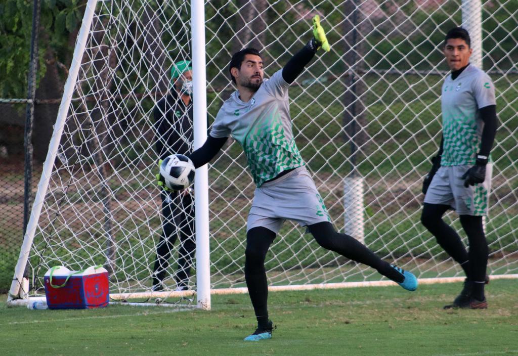 'Feliz y motivado para competir con los Guerreros', dice Joel García sobre su regreso a Santos