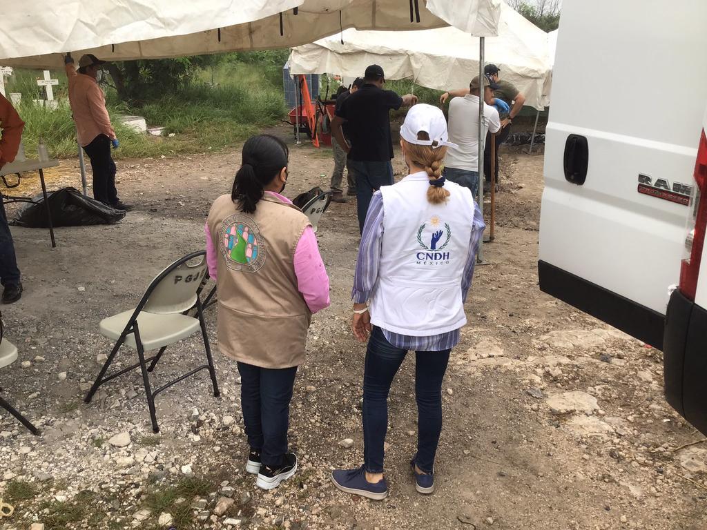 Autoridades hallan fosa común con 21 cuerpos en Reynosa, Tamaulipas