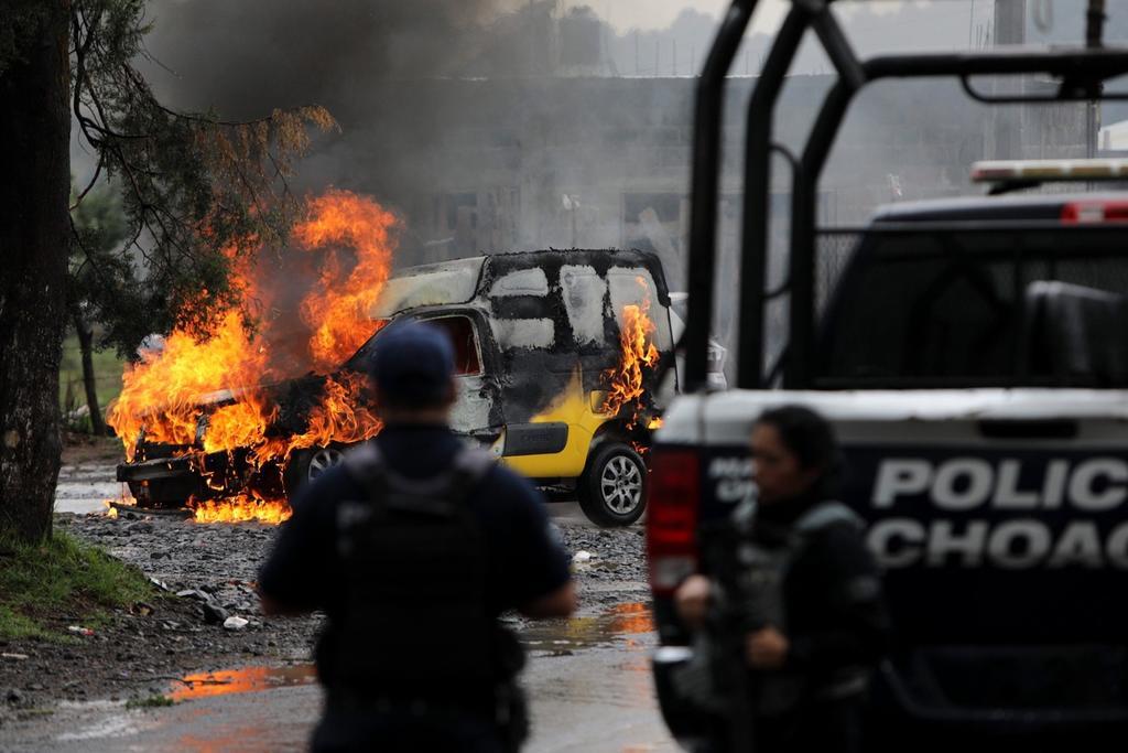 Los conflictos armados se desbordan en seis estados mexicanos