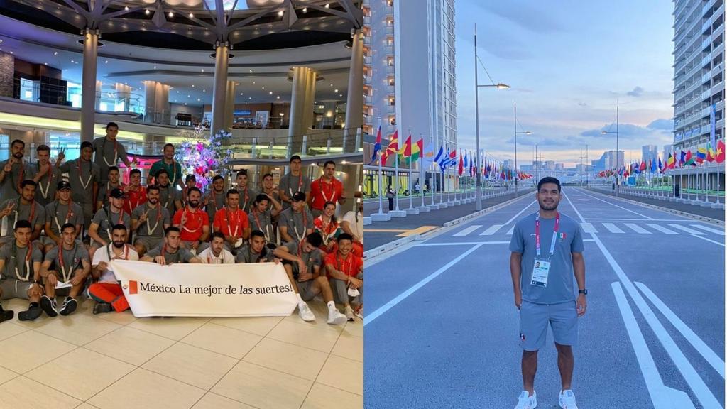 Selección Mexicana arriba a la Villa Olímpica de Tokio 2020