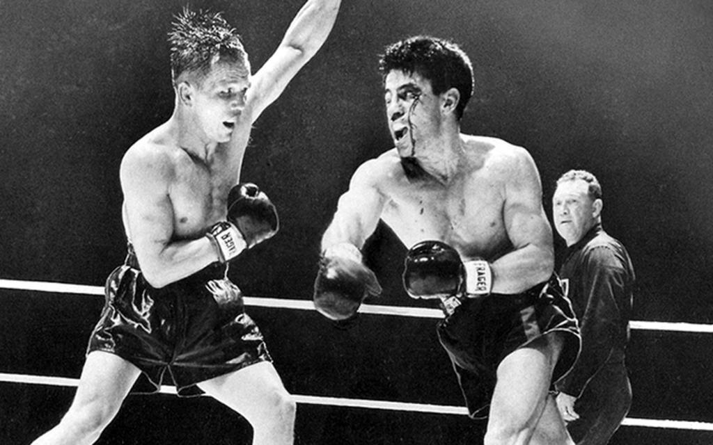 Un día como hoy de 1947,  Rocky Graziano y Tony Zale se enfrentaron por segunda vez