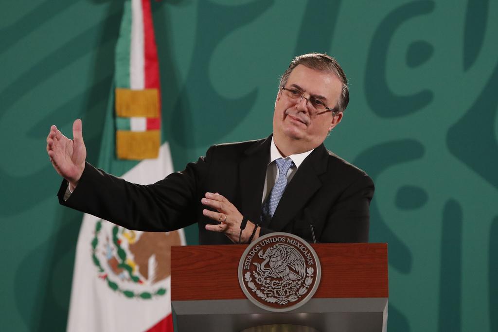 México está en contra del 'bloqueo' que existe en Cuba por parte de EUA: Ebrard