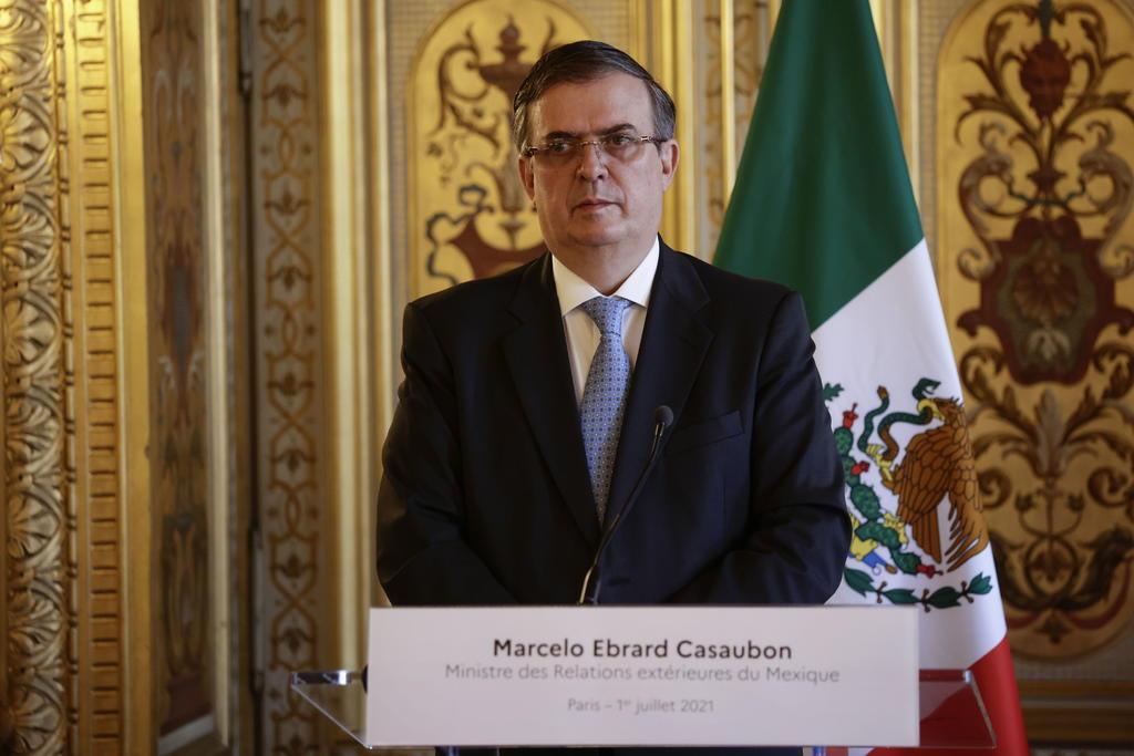 Ebrard refrenda rechazo de México a bloqueo contra Cuba por EUA