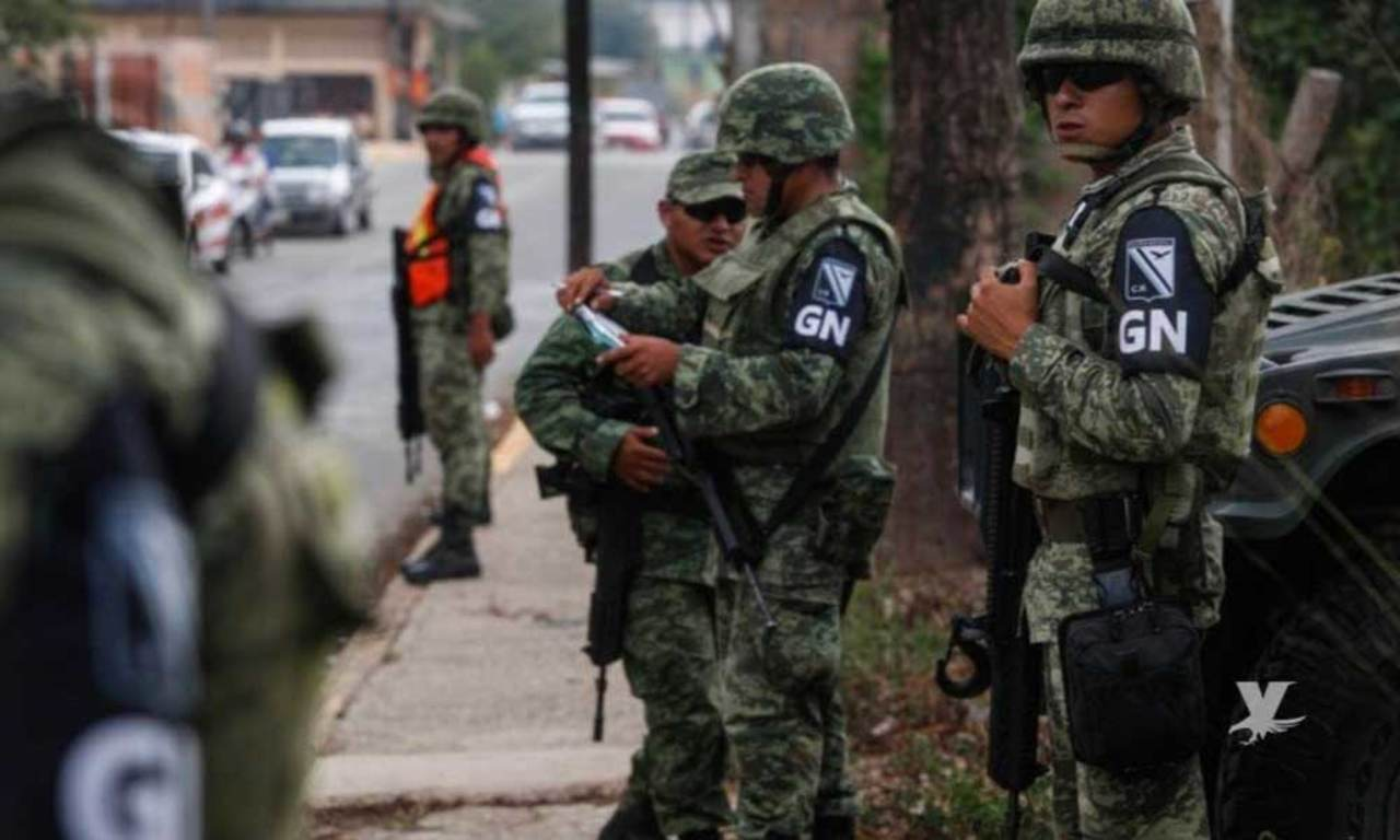 Liberan a agentes estatales y de Guardia Nacional