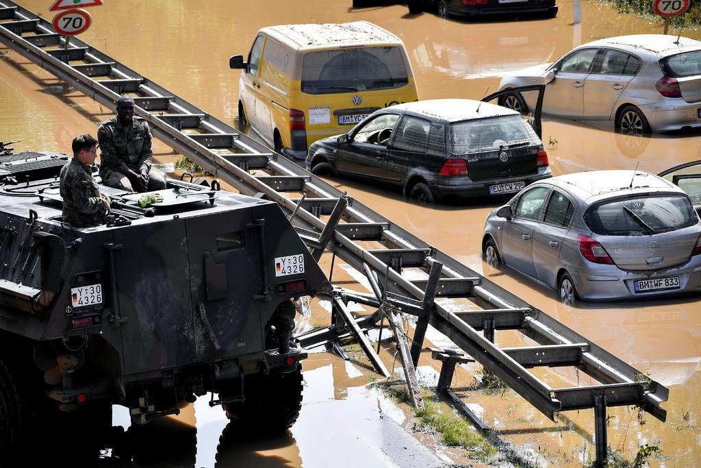 Las inundaciones en Alemania suman 135 muertos y plasman el combate climático