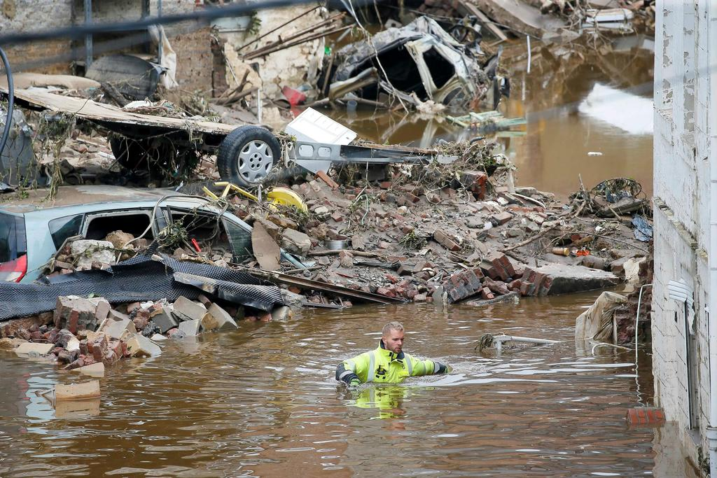 Bélgica registra 27 muertos y 103 desaparecidos tras las inundaciones de los últimos días