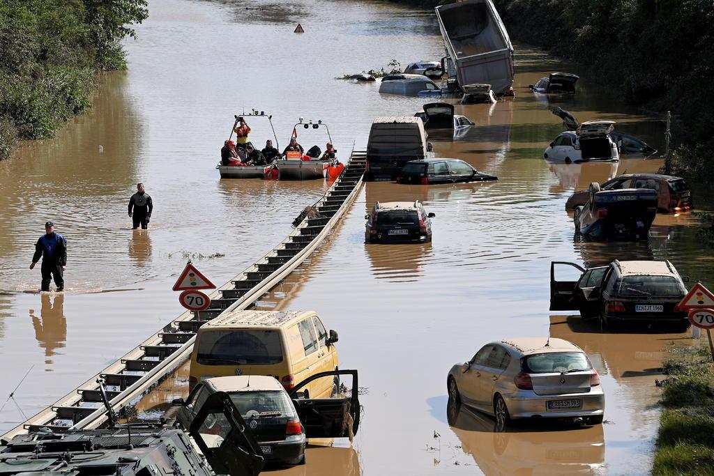 Al menos 143 personas han muerto en Alemania por las devastadoras inundaciones