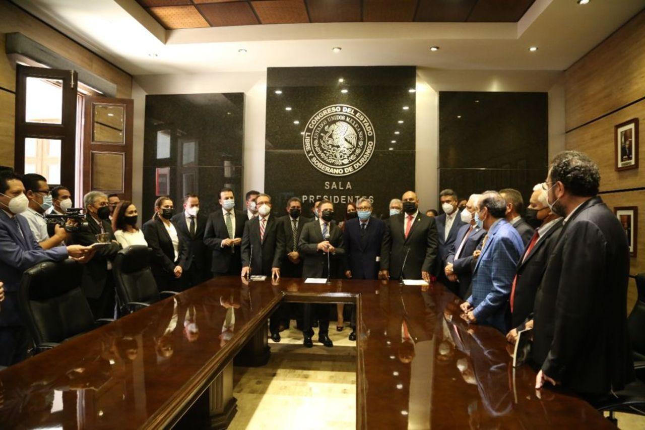 Inauguran la nueva sala de Presidentes