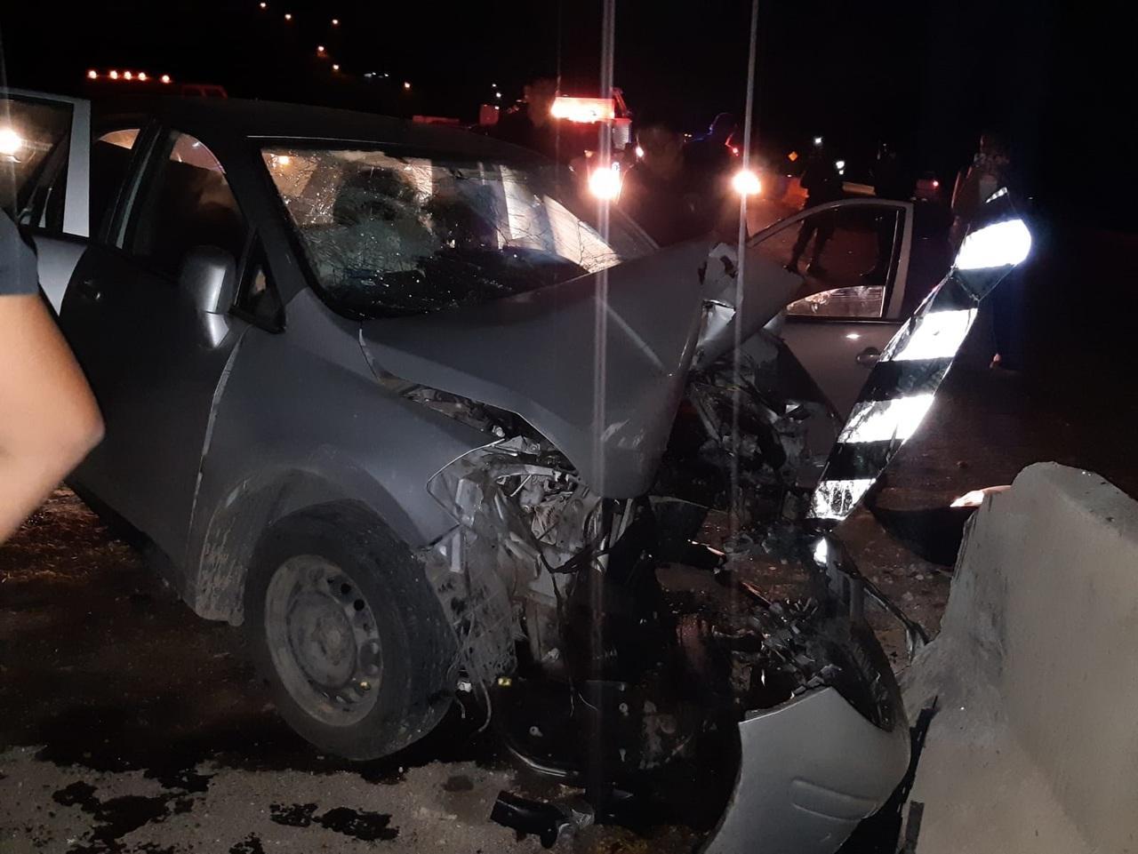 Nuevo choque en la salida Durango-Parral deja 3 lesionados graves