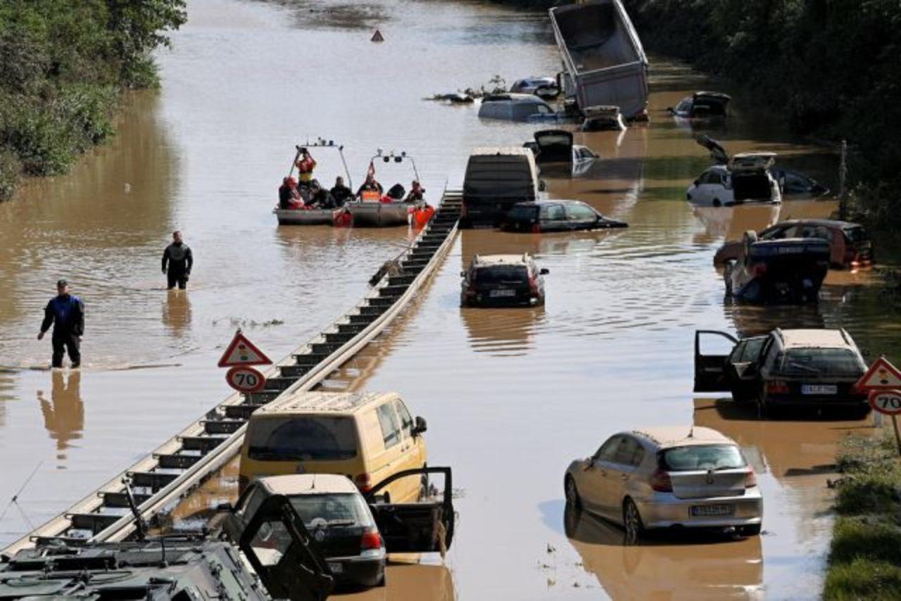 Inundaciones en Alemania dejan 143 muertos