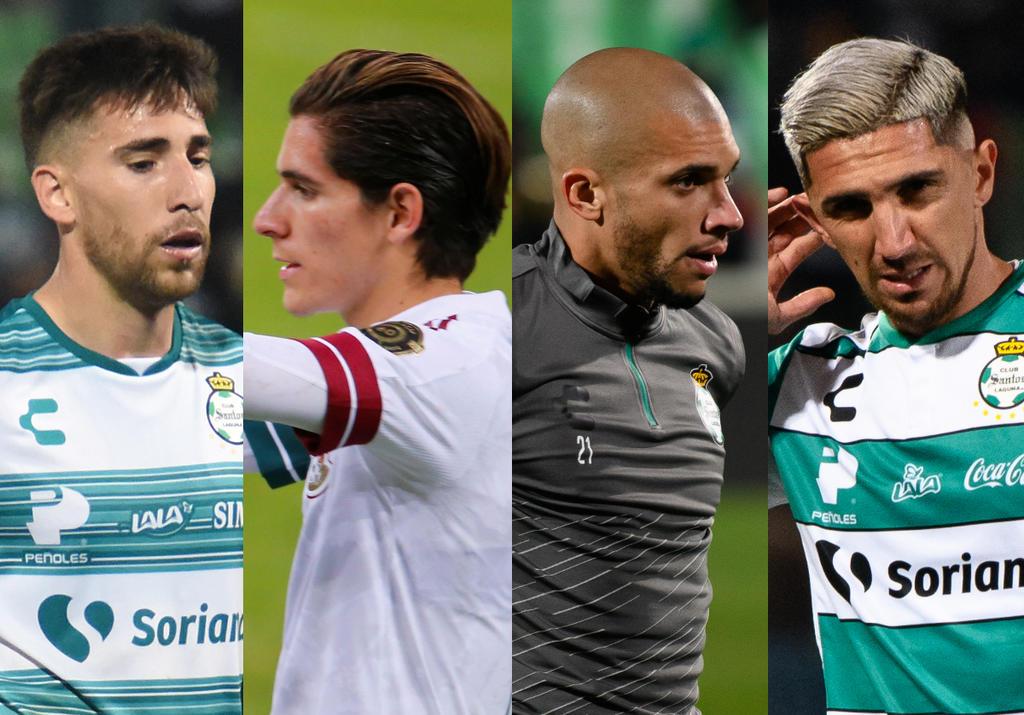 Cuatro Guerreros del Santos Laguna integran equipo de estrellas de la Liga MX