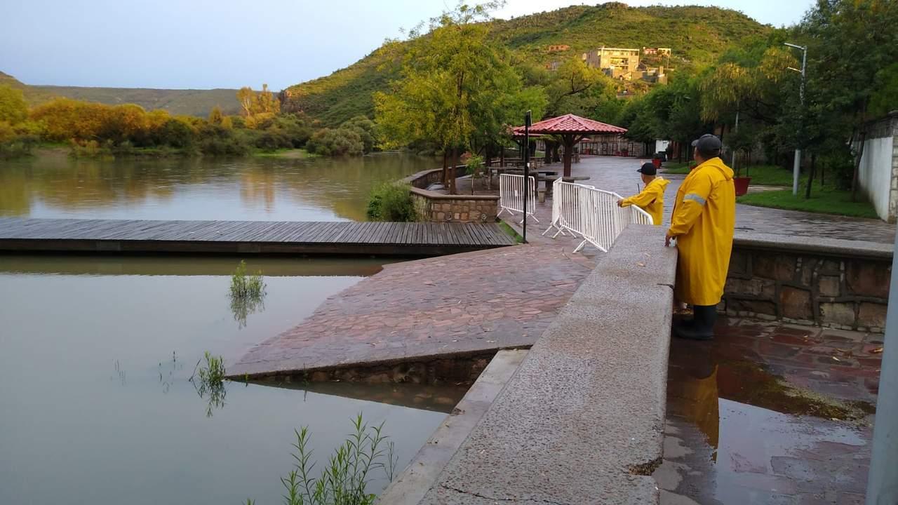 Aumenta extracción de la presa Guadalupe Victoria