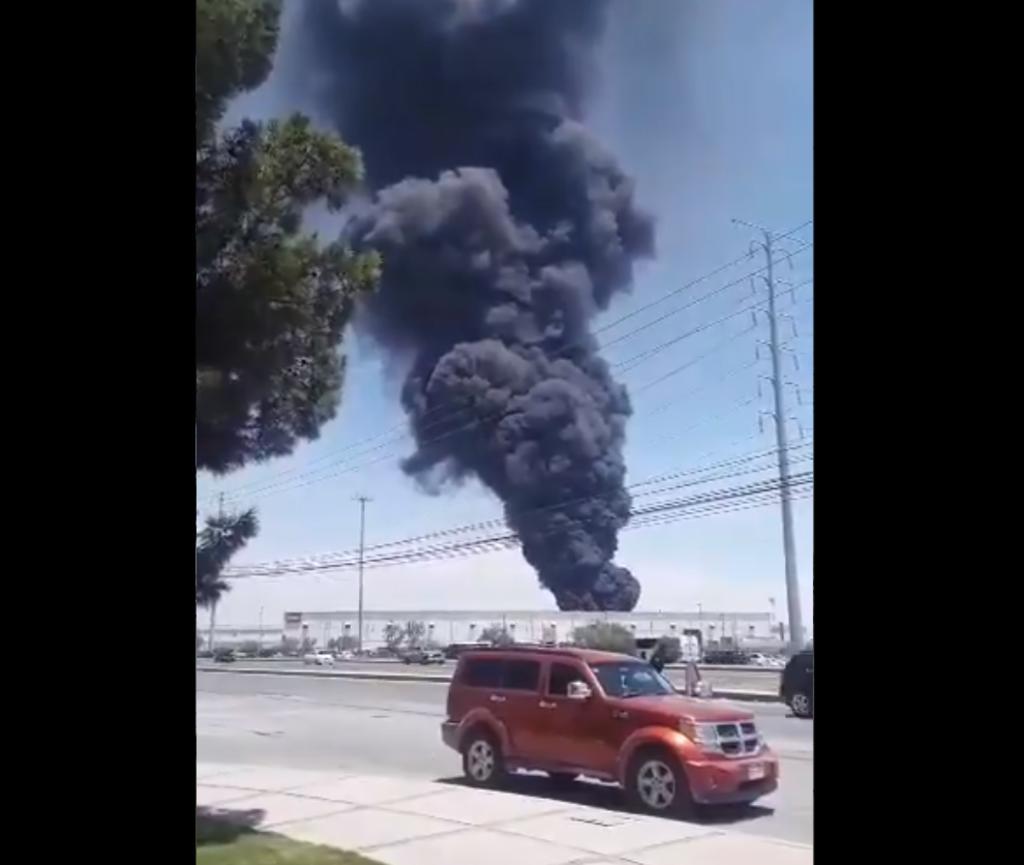 Planta de Bombardier se incendia en Ciudad Juárez