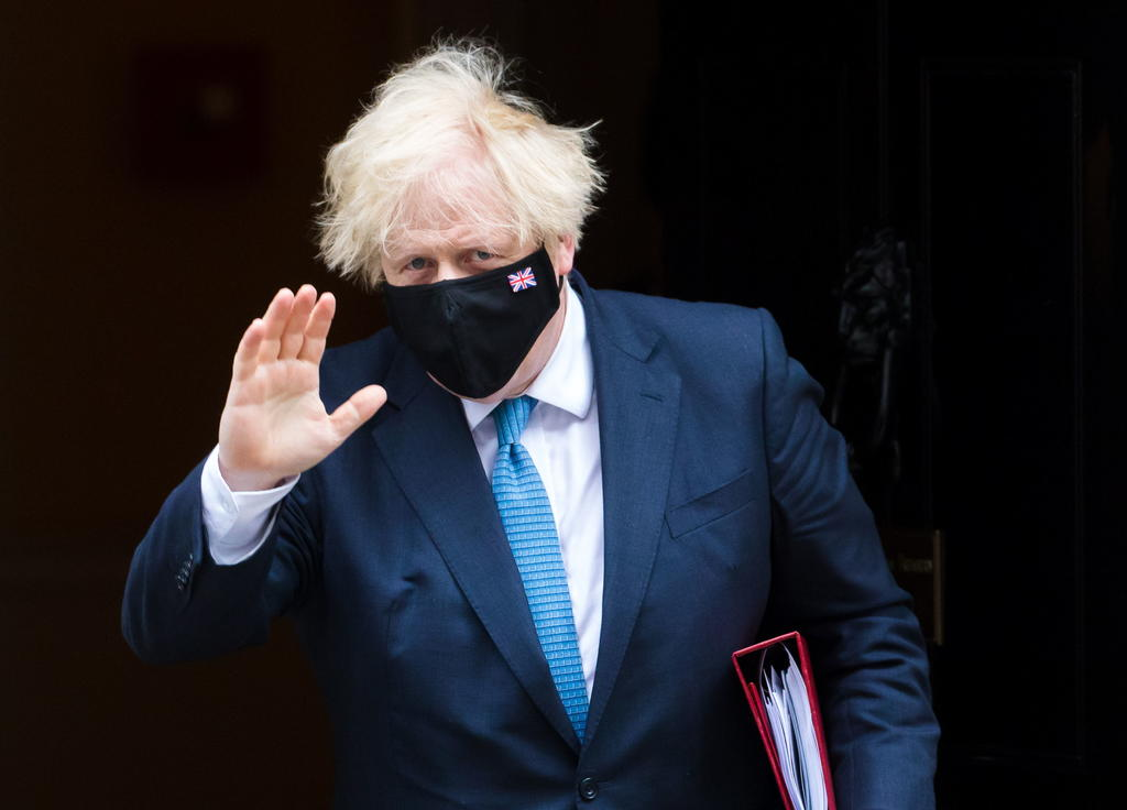 El primer ministro Boris Johnson llama a la cautela ante el levantamiento de las restricciones en Reino Unido