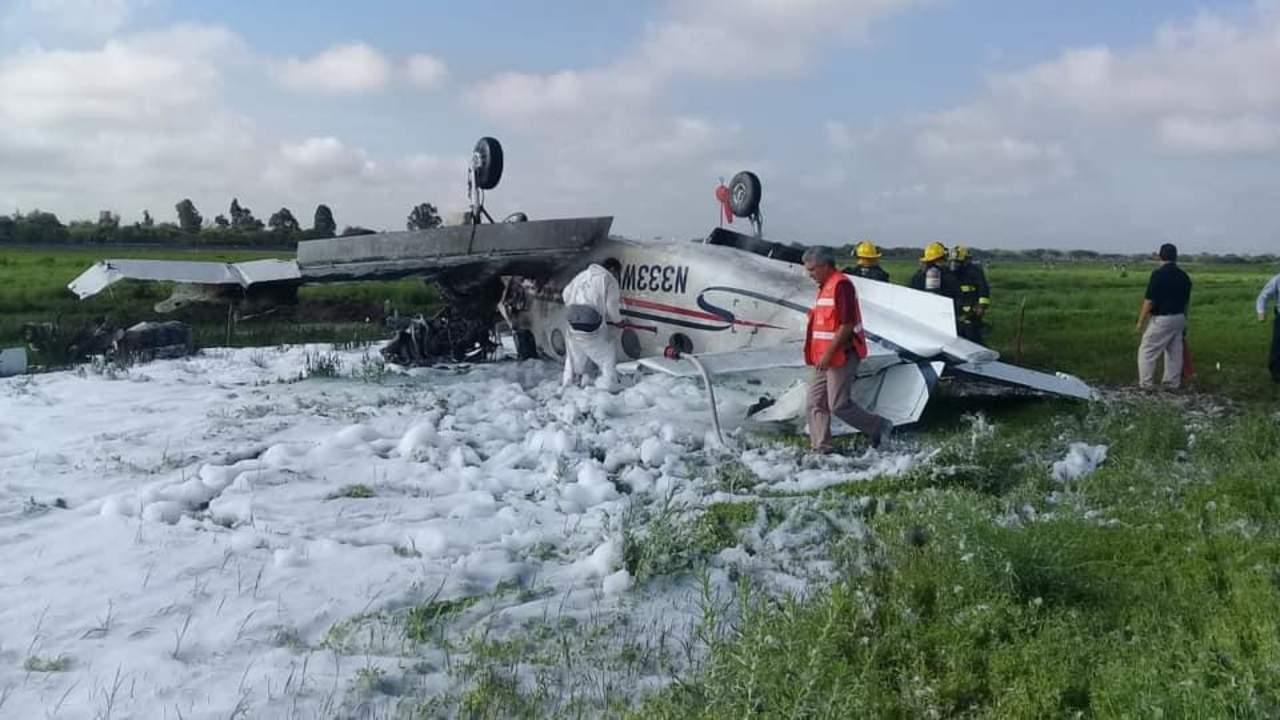 Identifican a occiso y lesionada en accidente aéreo de Durango