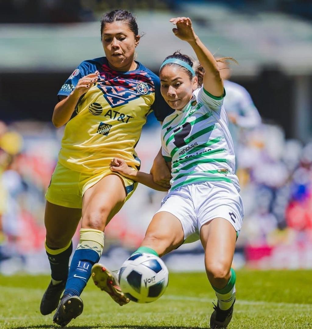 Guerreras del Santos Laguna 'tropiezan' ante el América en su debut en el Estadio Azteca