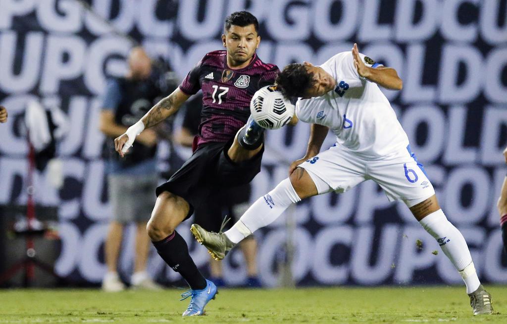 México lidera el Grupo A de la Copa Oro tras vencer a El Salvador