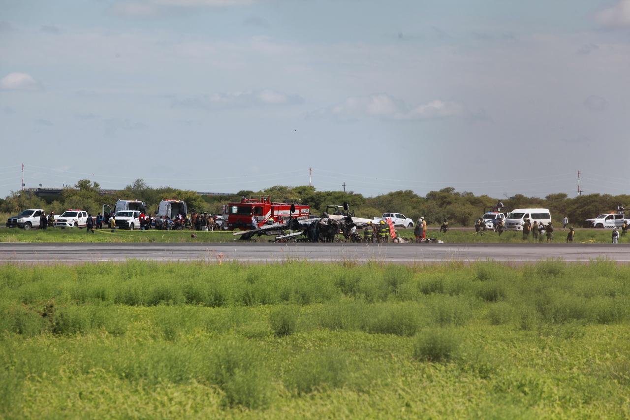 Cae aeronave en Durango; un muerto y un lesionado