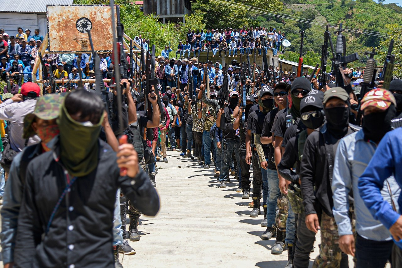 Respaldan a nuevo grupo civil armado en Chiapas