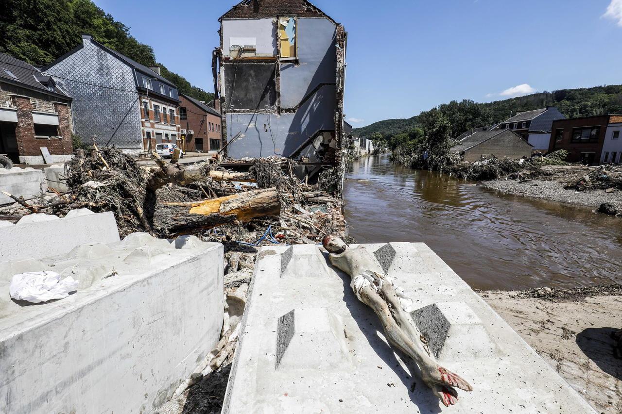 Bélgica reporta 31 muertes por inundaciones