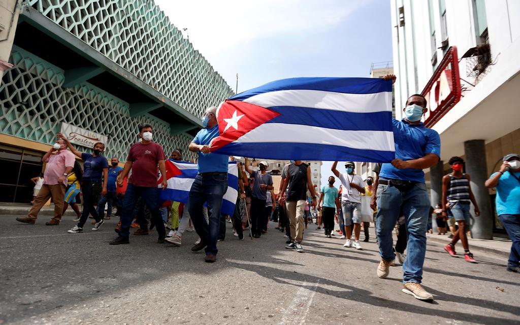 La Policía de Cuba vigila las calles tras ola de protestas
