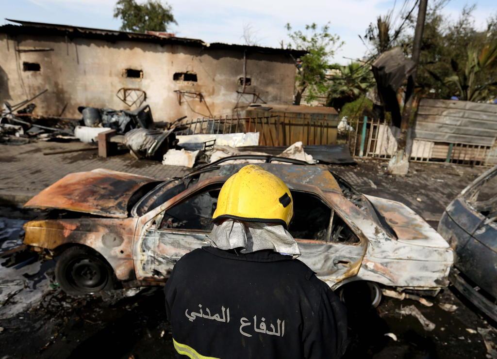 Explosión de bomba deja 18 muertos y varios heridos en un mercado en Irak