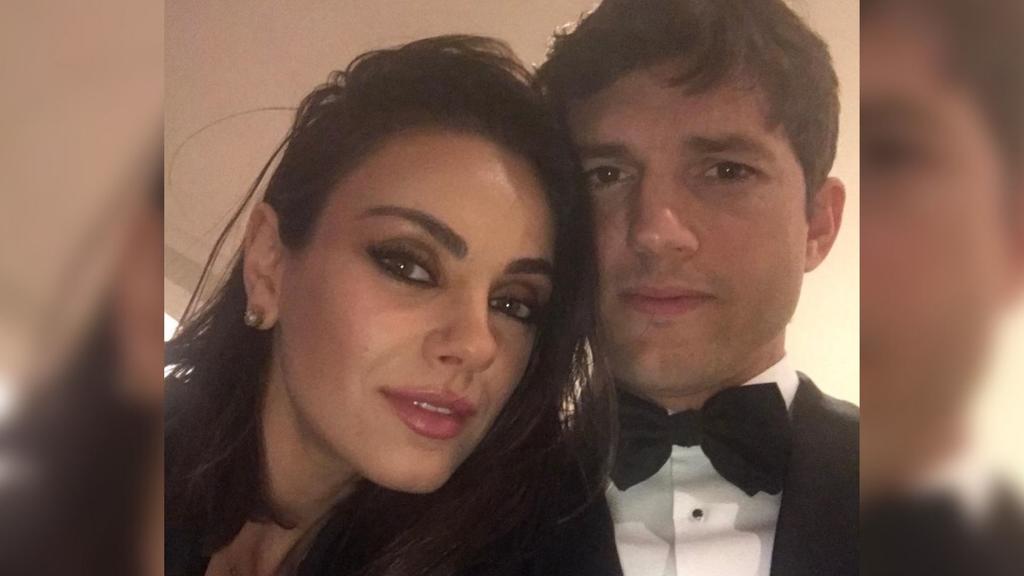 Mila Kunis convence a Ashton Kutcher de devolver boleto para viajar al espacio