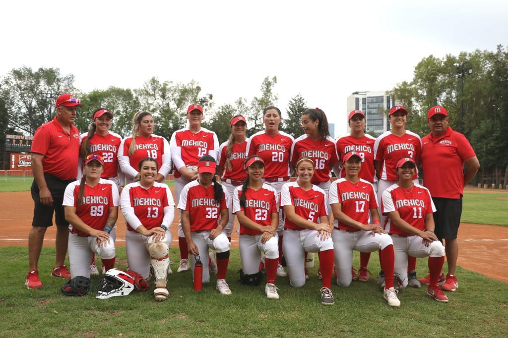 Selección de softbol femenil abre el telón para México en Tokio 2020