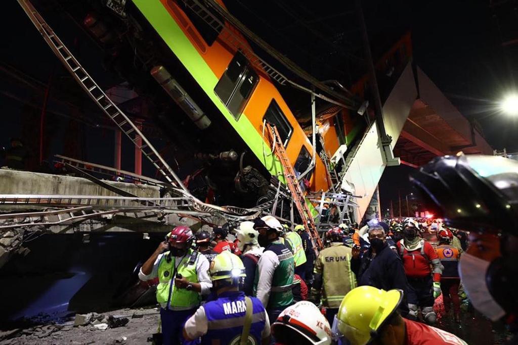 Fiscalía de CDMX prevé imputar a responsables de desplome de Línea 12 del Metro