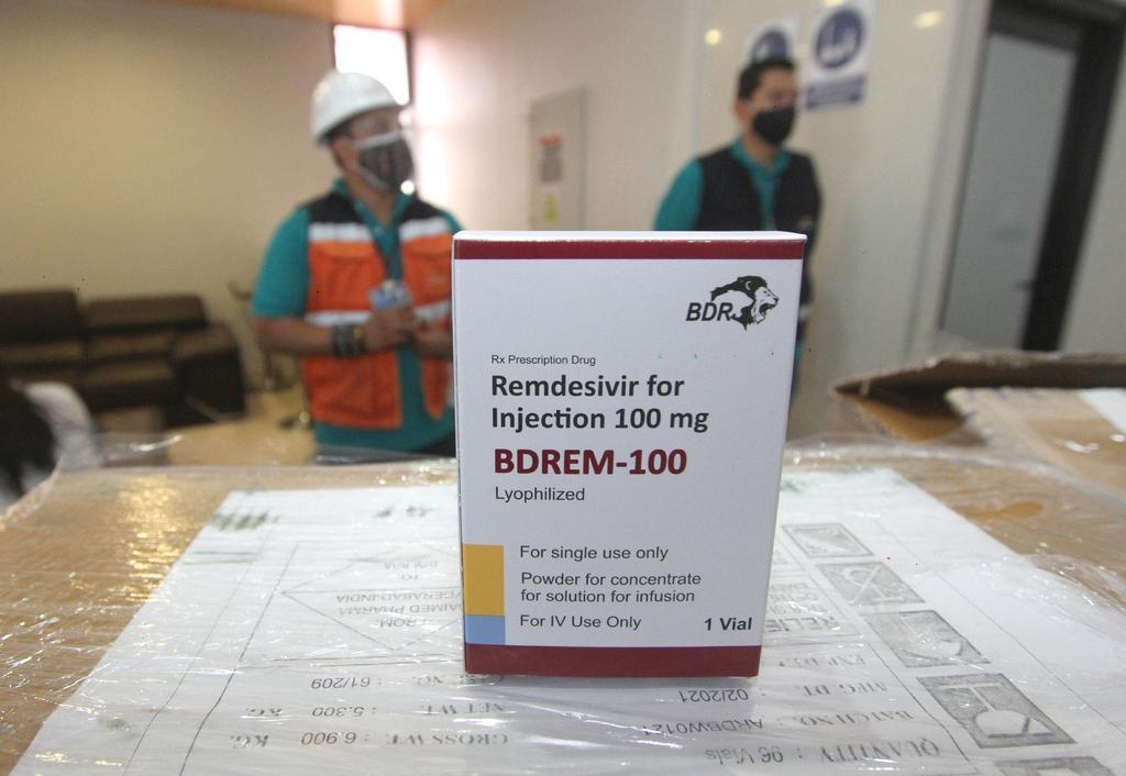 La Cofepris alerta sobre falsificación del fármaco remdesivir
