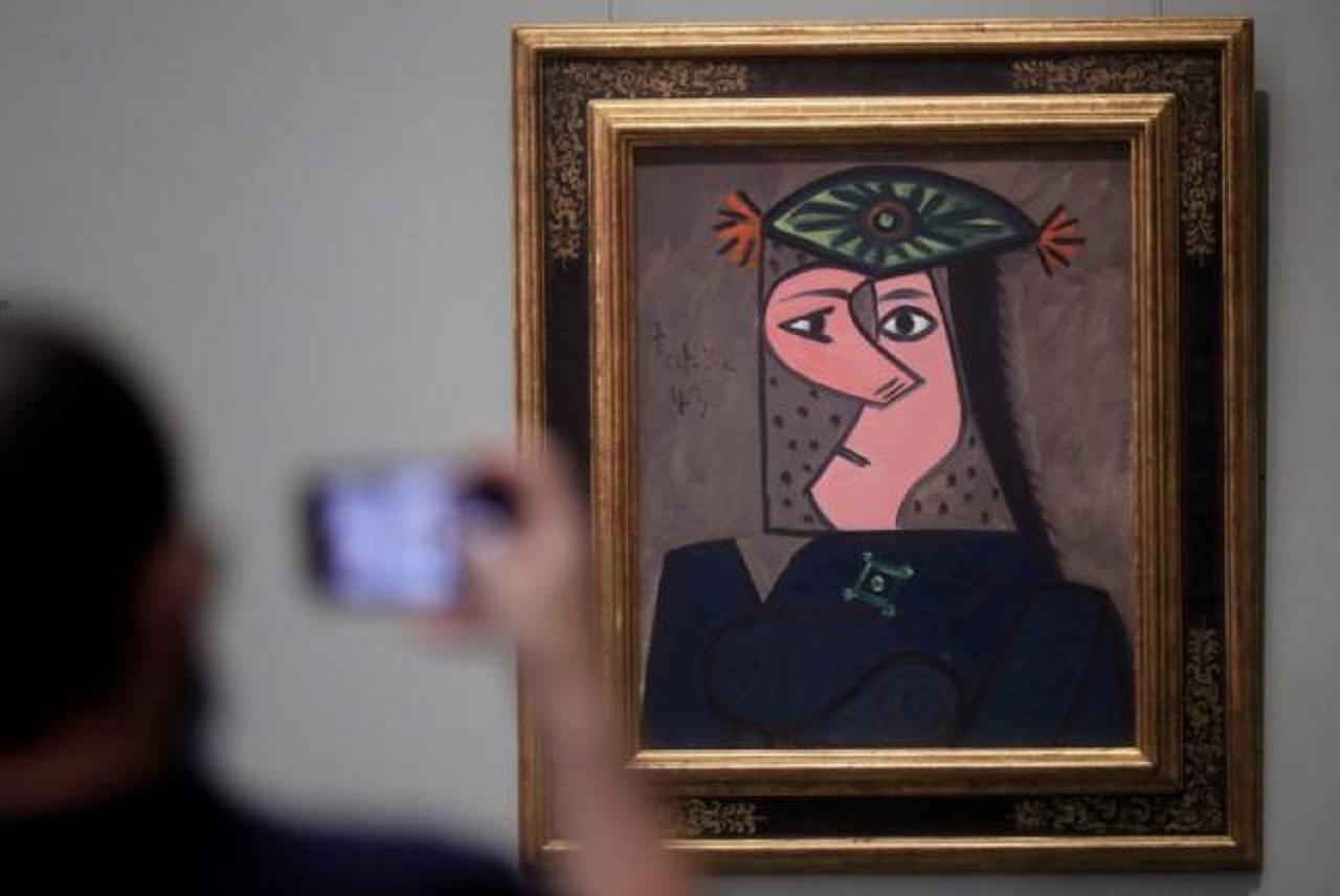 Picasso, en el Museo del Prado