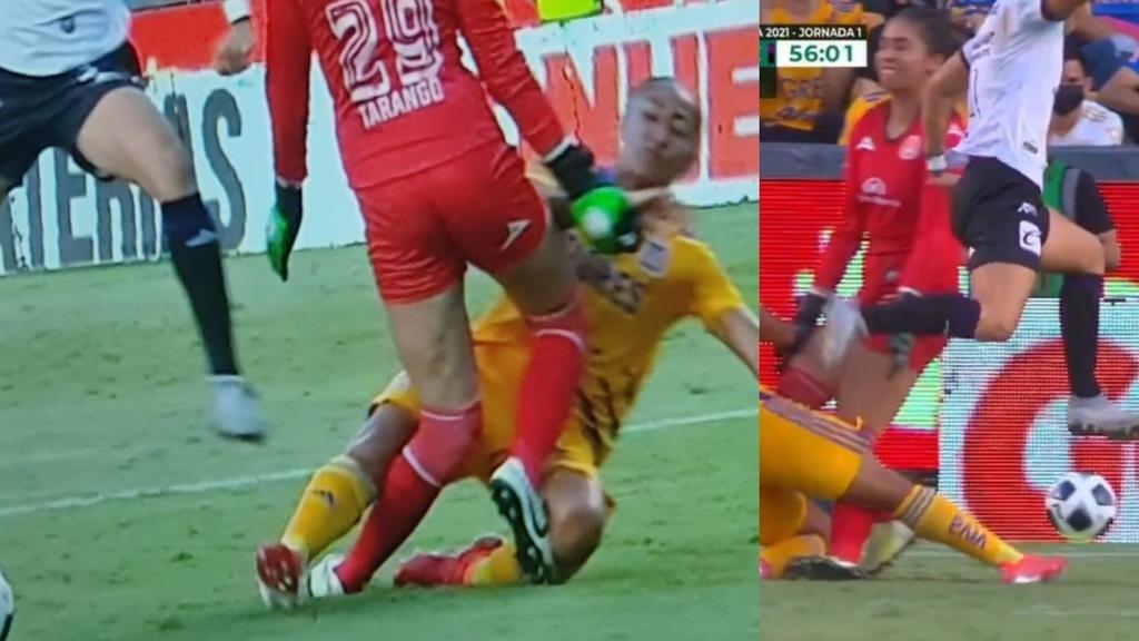VIDEO: María Tarango, portera de Mazatlán, sufre fuerte lesión tras choque con jugadora de Tigres