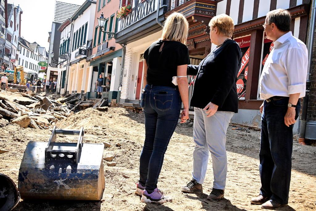 Los daños en infraestructuras tras las inundaciones en Alemania podrían llegar a los 2 mil mde