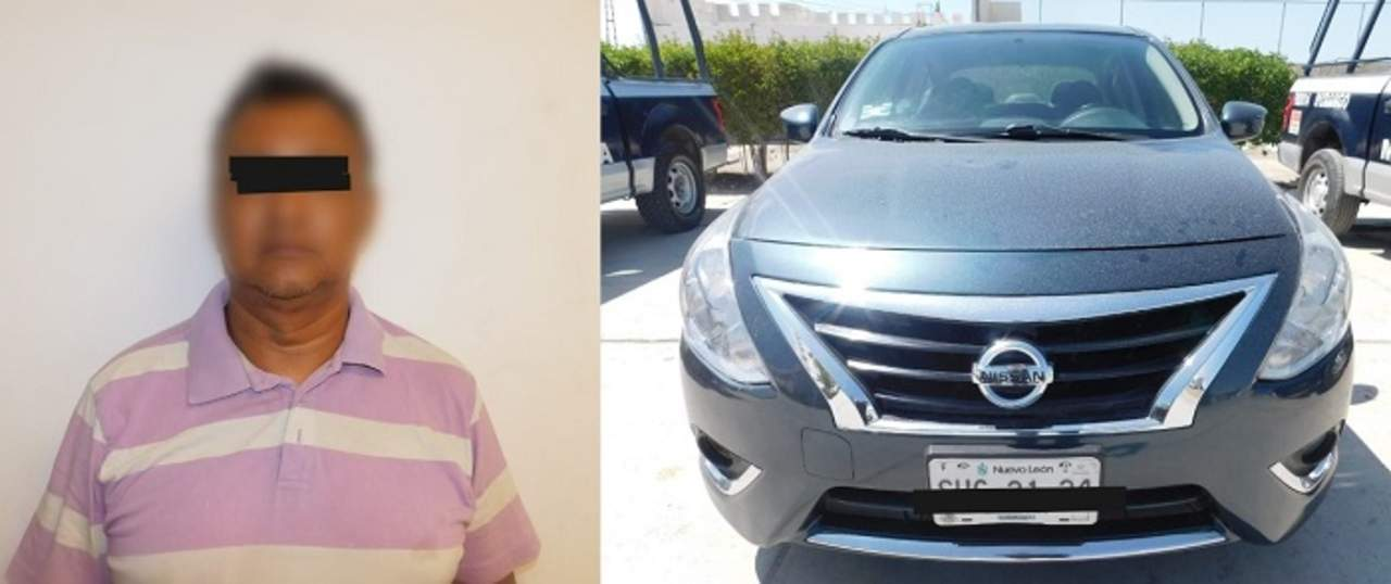 Recuperan en Gómez Palacio un auto con reporte de robo en Nuevo León
