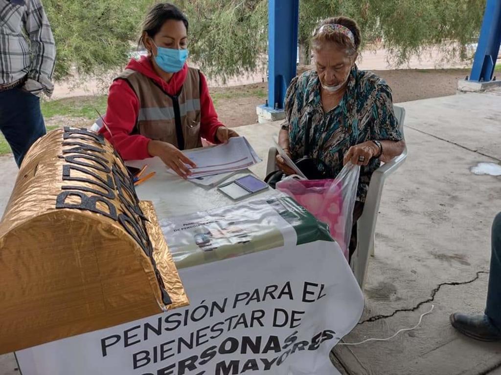 Bienestar en La Laguna de Durango suspende inscripción para pensiones de adultos mayores por veda electoral