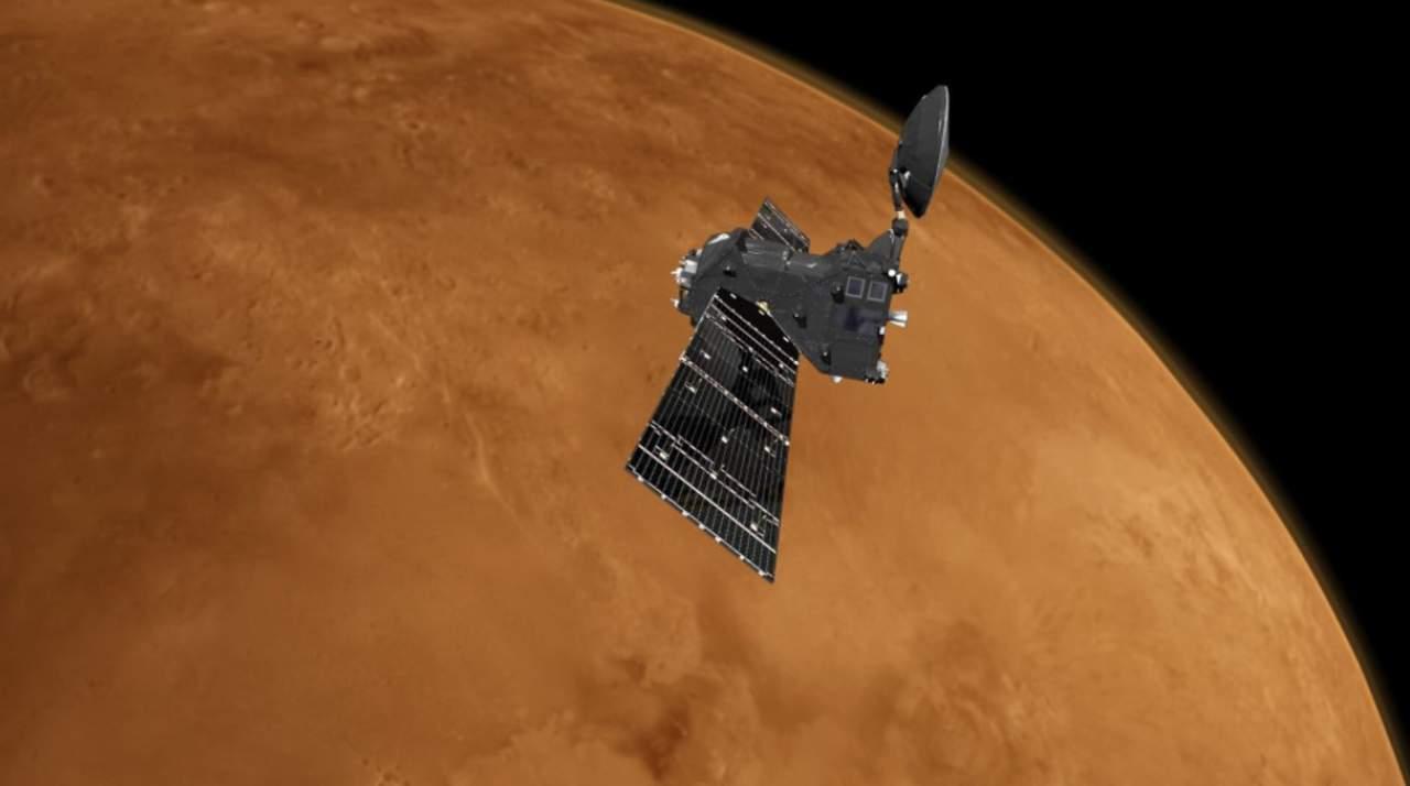 La ESA no ha encontrado gases que indiquen presencia de vida en Marte
