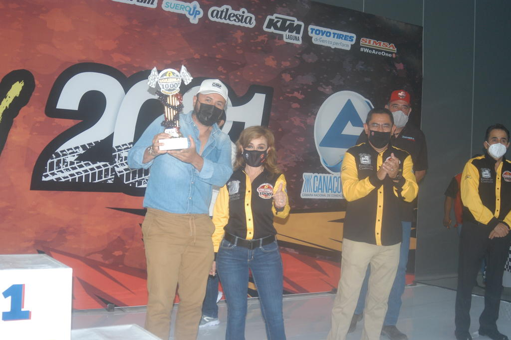 Lagunero Ricardo Piñera remonta en Rally Coahuila 1000