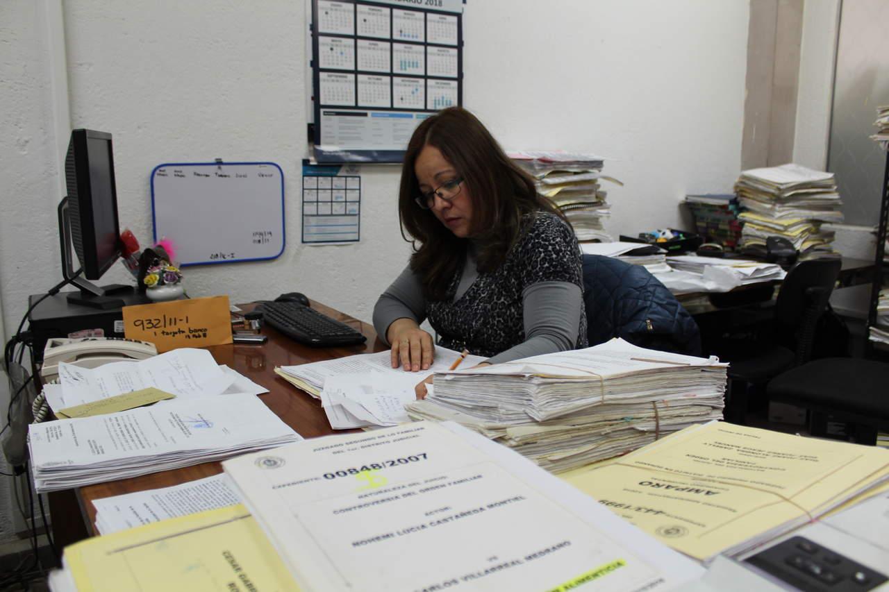 Al doble, juicios iniciados este año en Durango