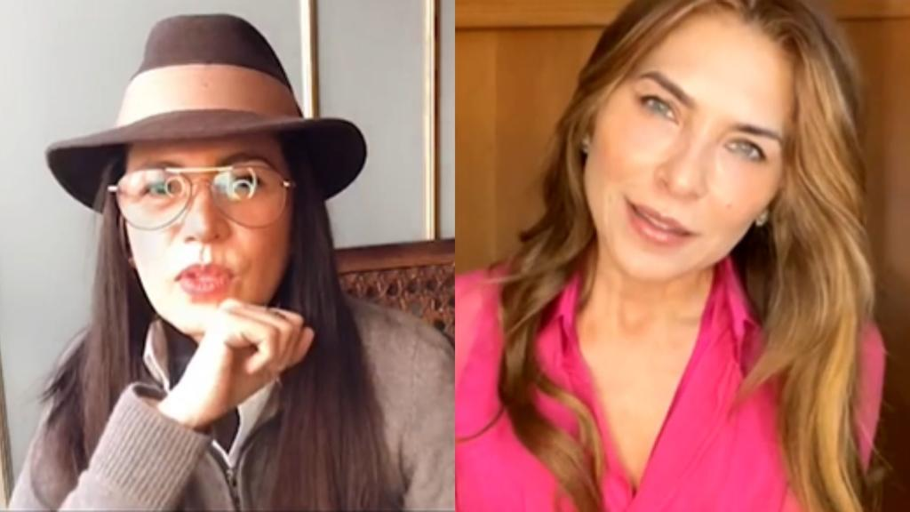 Yolanda Andrade pide perdón a su ex Lorena Meritano por aguantar sus adicciones