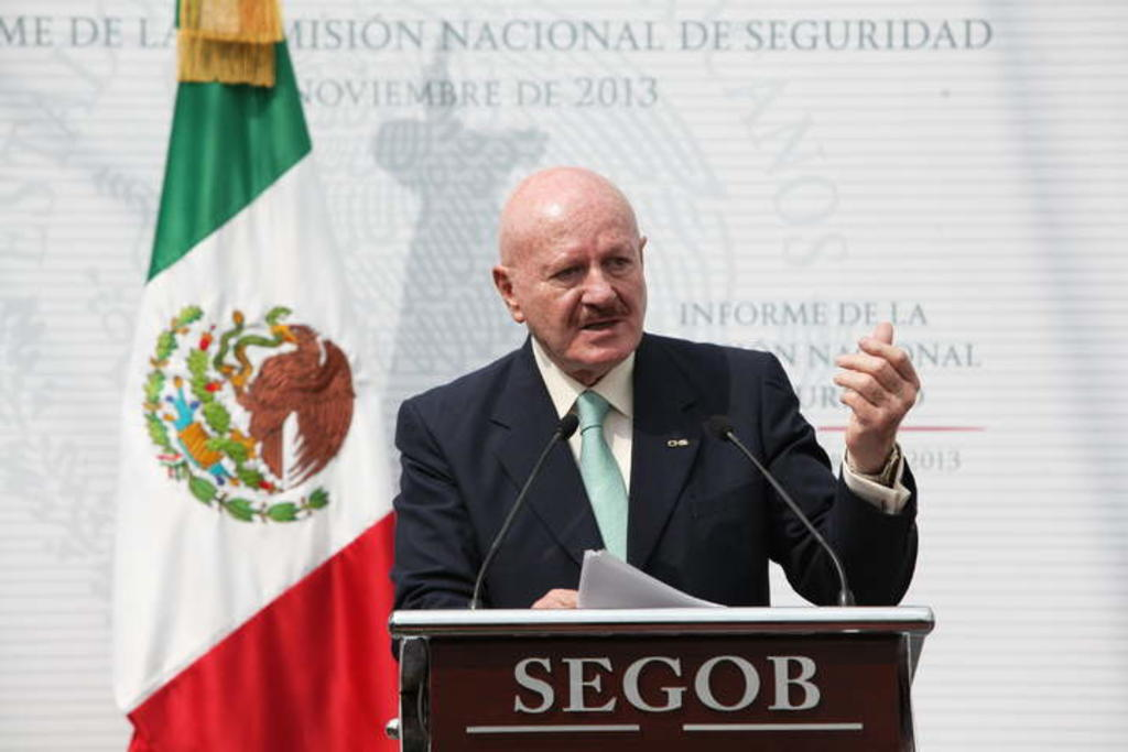 La FGR revela que el excomisionado Manuel Mondragón y Kalb fue espiado