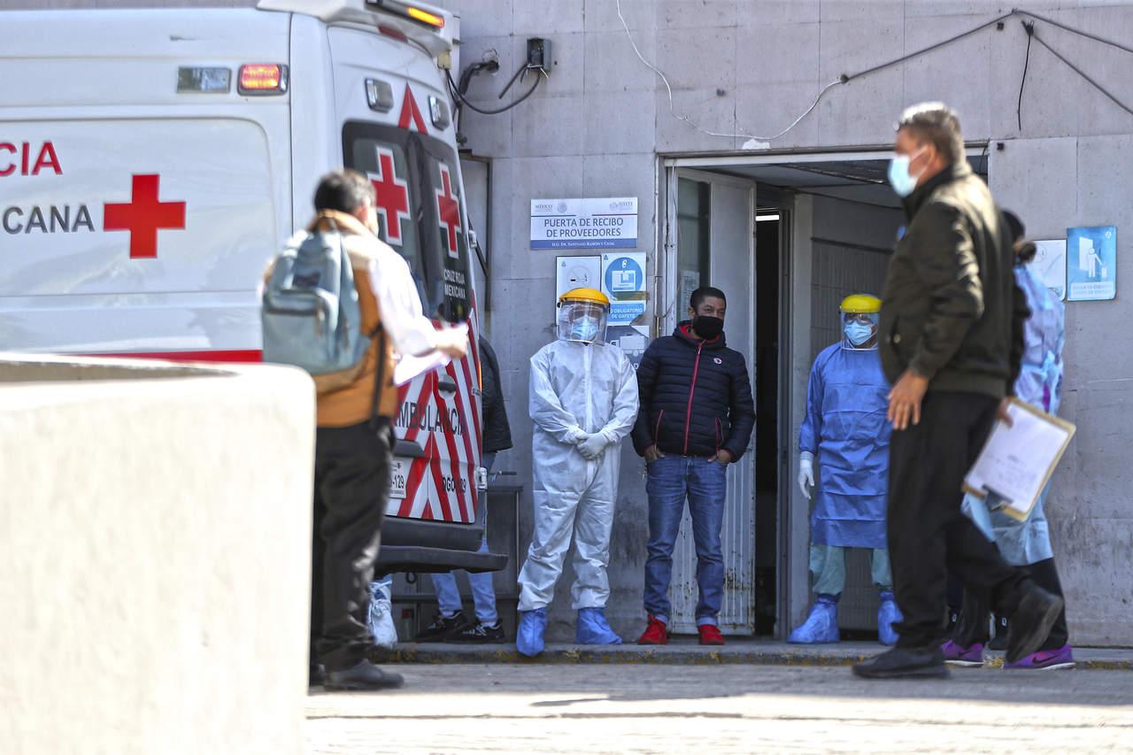 En 24 horas, Durango registra 54 hospitalizados por Covid