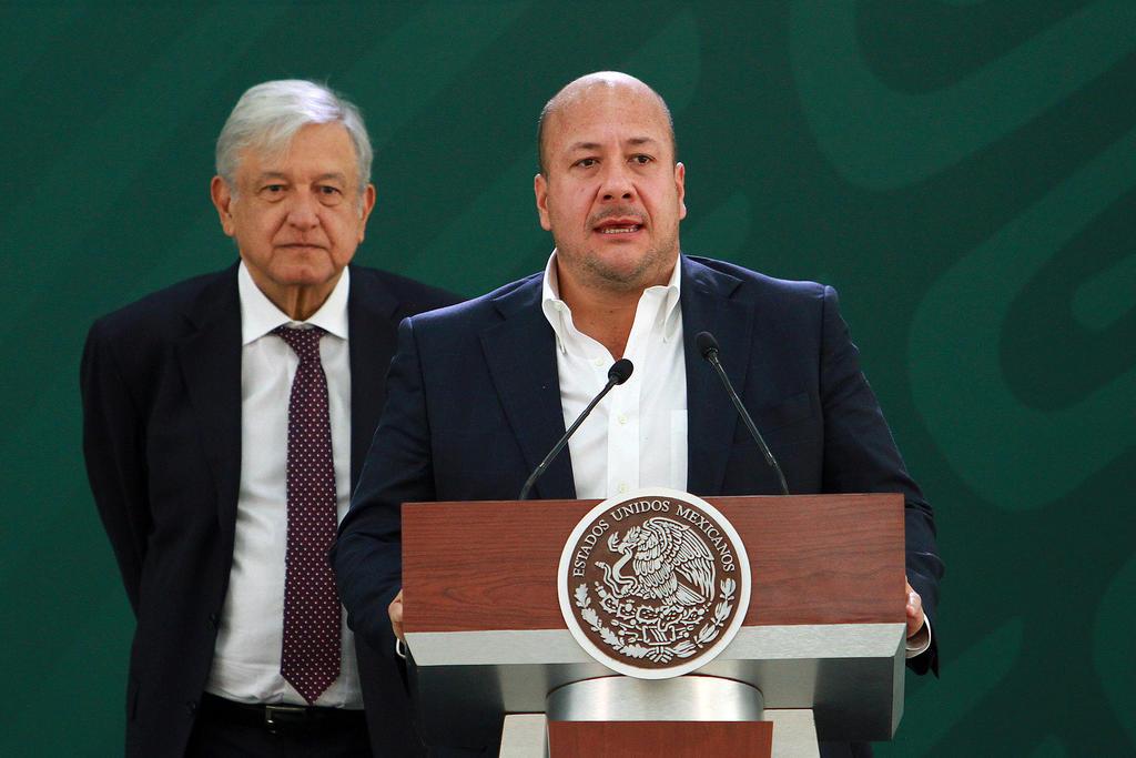 López Obrador se reúne con gobernador de Jalisco; acuerdan reforzar seguridad