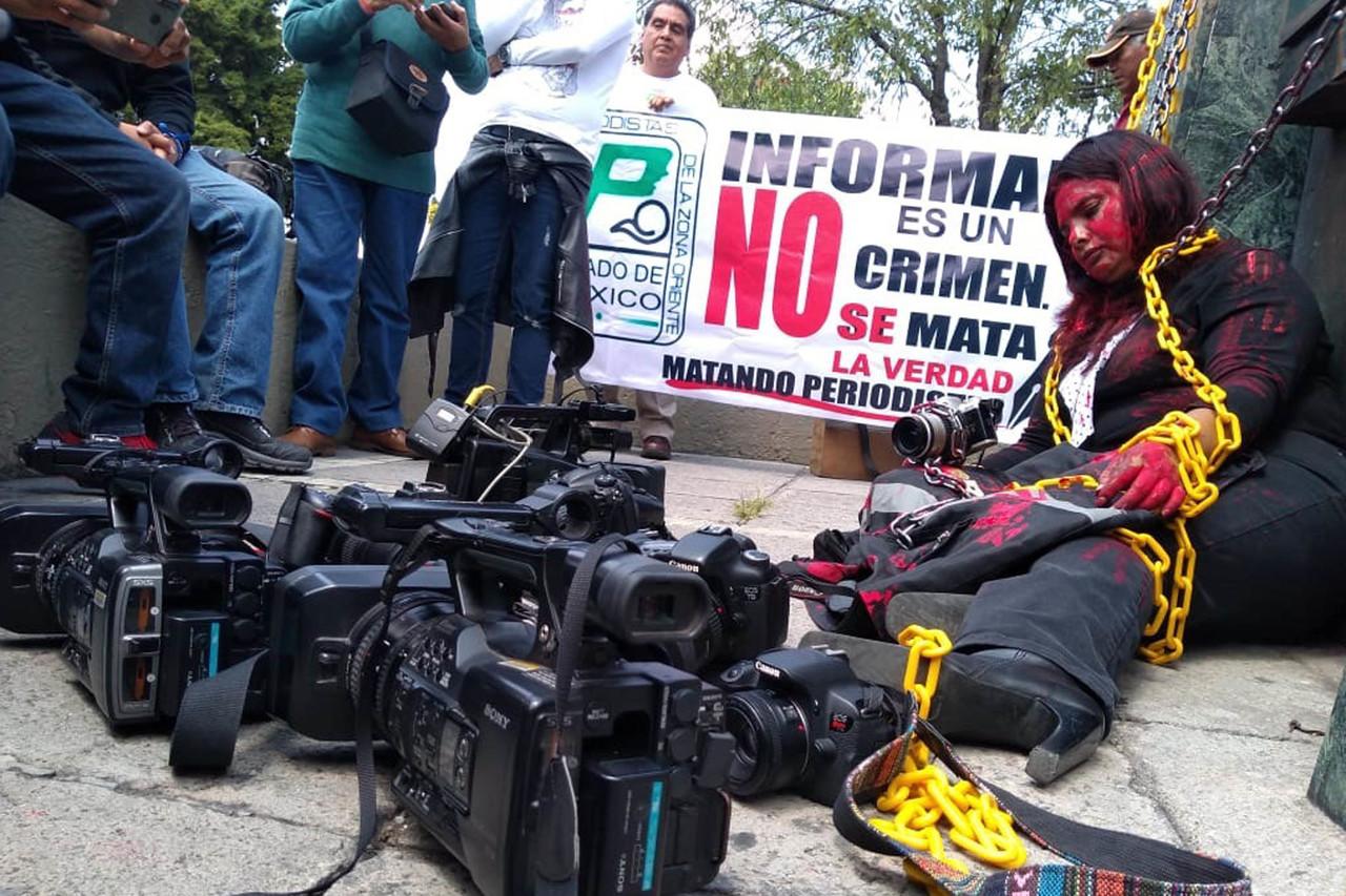 La CNDH considera 'apremiante' garantizar protección a periodistas