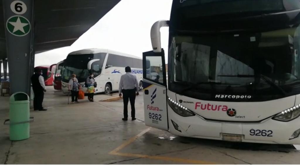 La Central Camionera de Gómez Palacio registra una baja en la afluencia de viajes a Mazatlán