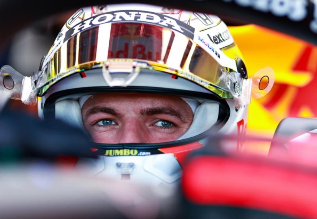 Así se vio desde las gradas el choque de Max Verstappen en el GP de Gran Bretaña