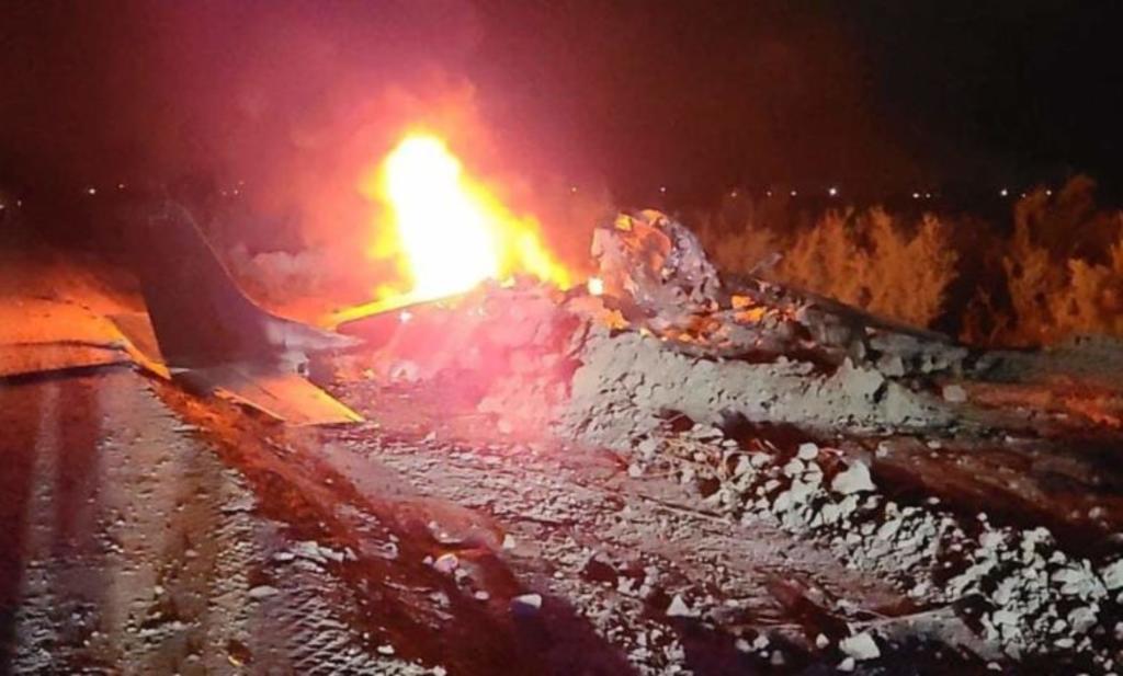 Dos personas mueren tras el desplome de una avioneta en el Valle de Mexicali