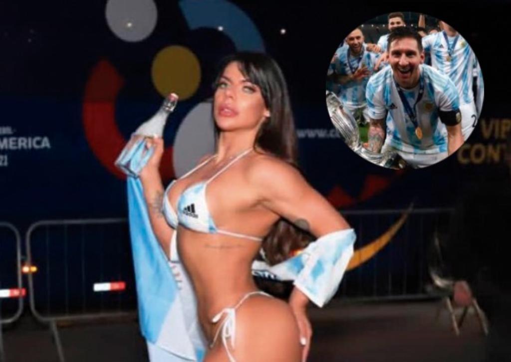 Suzy Cortez se vuelve a tatuar a Messi; ahora en un lugar 'aún más íntimo'