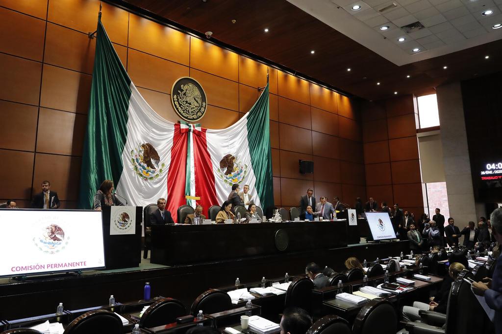 Comisión Permanente cita a sesión el próximo martes
